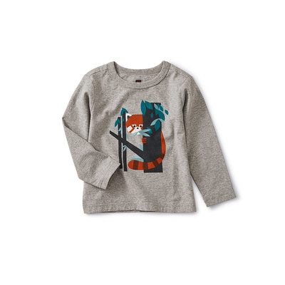 TEA COLLECTION Tea Red Panda Graphic Baby Tee