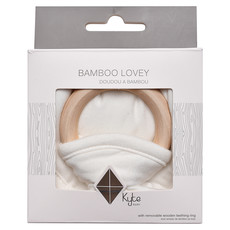 KYTE BABY Kyte Baby Lovey with Removable Wooden Teething Ring