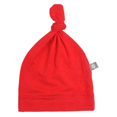 KYTE BABY Kyte Baby Crimson Bamboo Knotted Hat