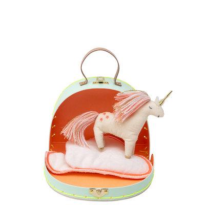 MERI MERI Meri Meri Bella's House Mini Unicorn Suitcase