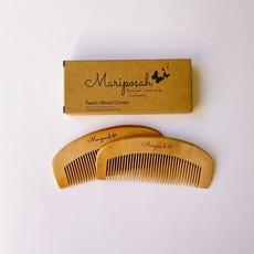 MARIPOSAH Mariposah Peach Wood Combs