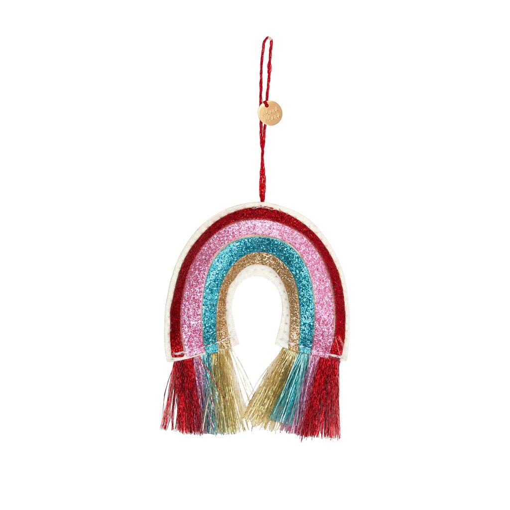 MERI MERI Meri Meri Rainbow Glitter Fabric Tree Decoration