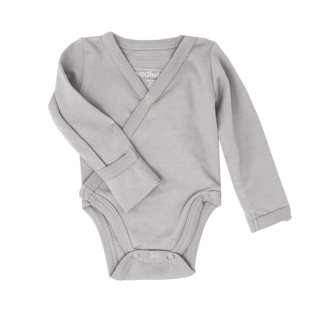L'OVED BABY L'oved Baby Organic Kimono Bodysuit