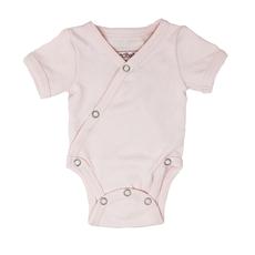 L'OVED BABY L'oved Baby Organic Short-Sleeve Kimono Bodysuit