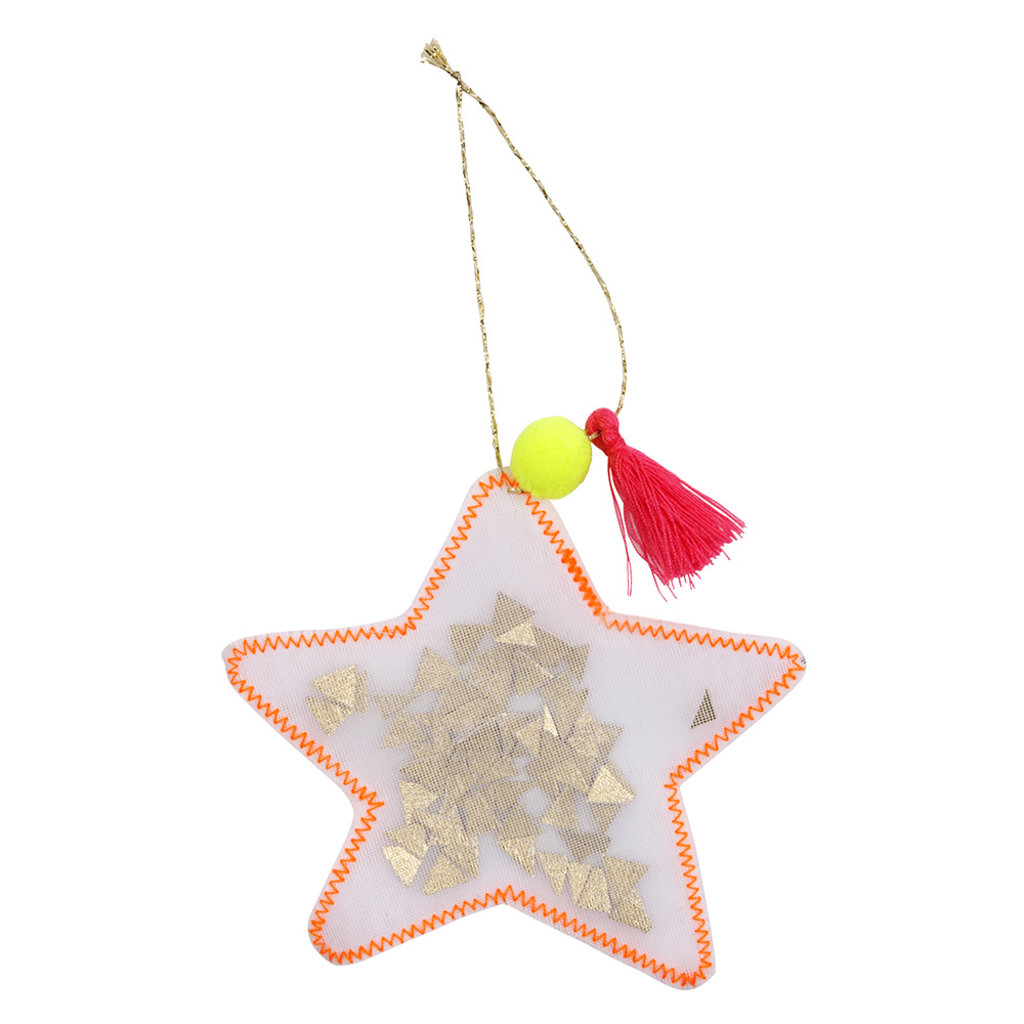 MERI MERI Meri Meri Star Shaker Tree Decoration