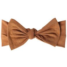 COPPER PEARL Copper Pearl Knit Headband Bow - Solid