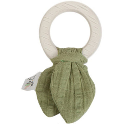 CREATIVE EDUCATION OF CANADA Tikiri Safari Teething Ring - Green
