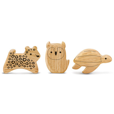 GREEN TONES Green Tones Animal Shaker Gift Set