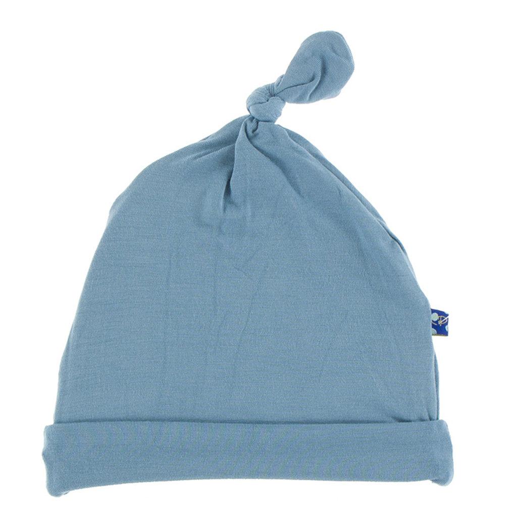 KICKEE PANTS Kickee Pants Oceanography Solid Knot Hat