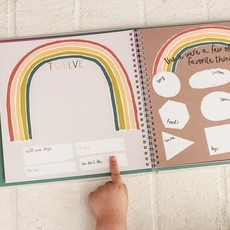 Lucy Darling Little Rainbow Memory Book