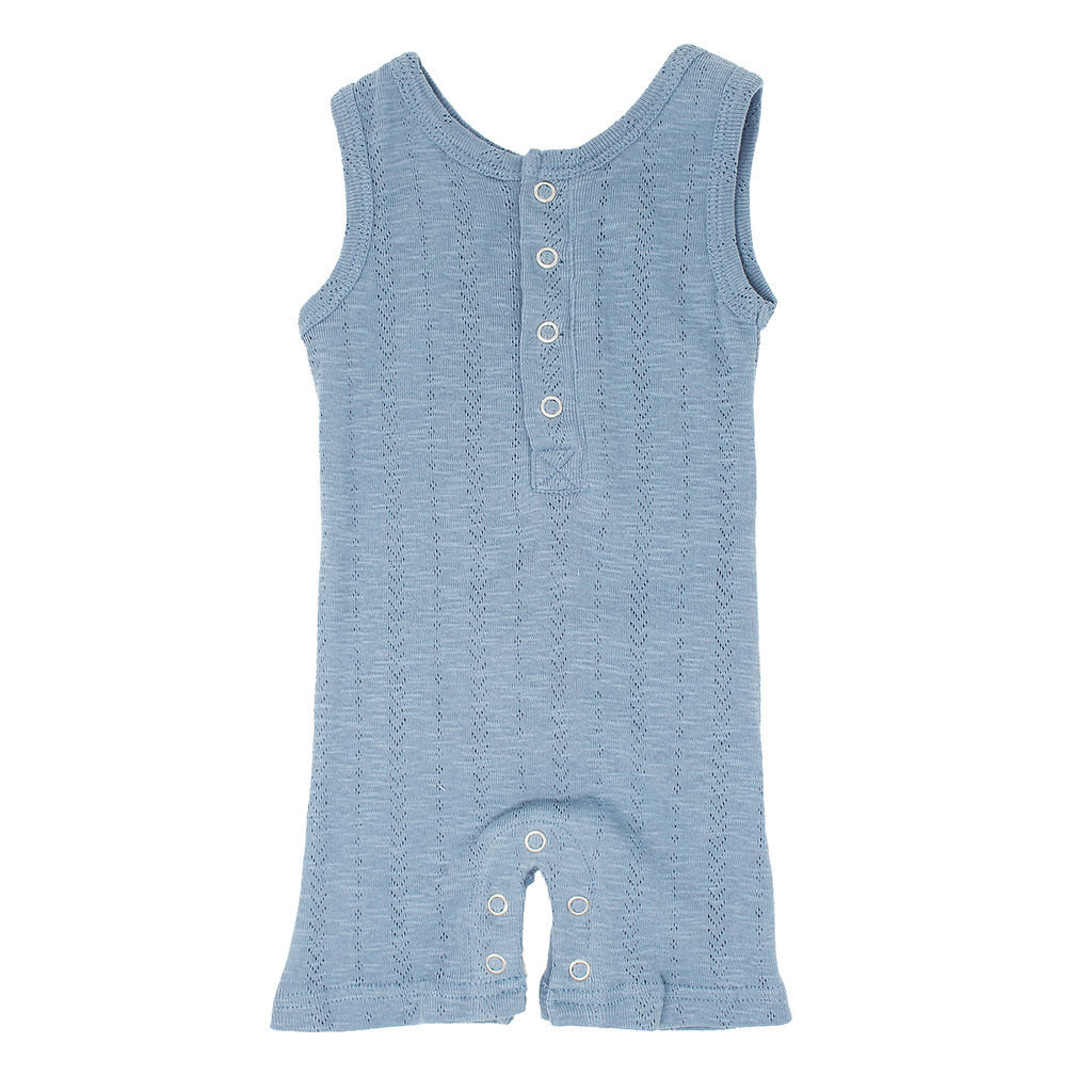 L'OVED BABY L'oved Baby Kid's Pointelle Sleeveless Romper