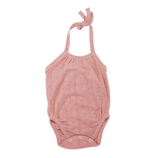 L'OVED BABY L'oved Baby Pointelle Crossback Bodysuit