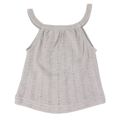 L'OVED BABY L'oved Baby Pointelle Halter Tank