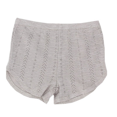 L'OVED BABY L'oved Baby Pointelle Tap Shorts