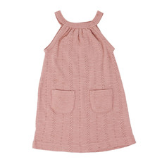 L'OVED BABY L'oved Baby Kid's Pointelle Halter Dress