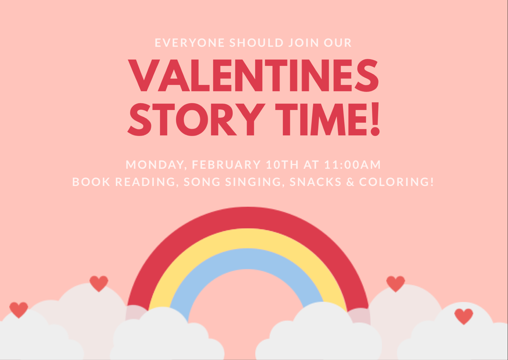 Valentines Story Time!