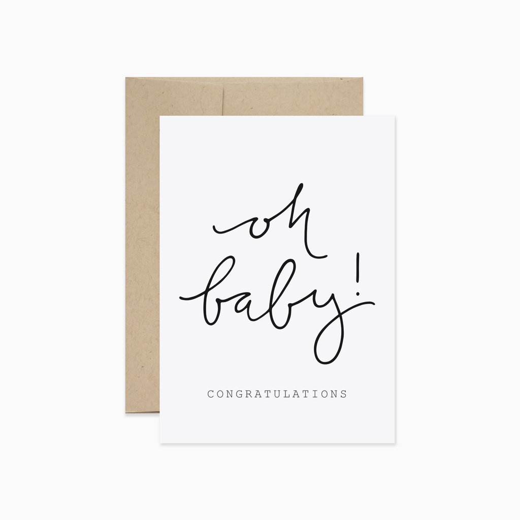 EVERMORE PAPER CO Oh Baby! Card