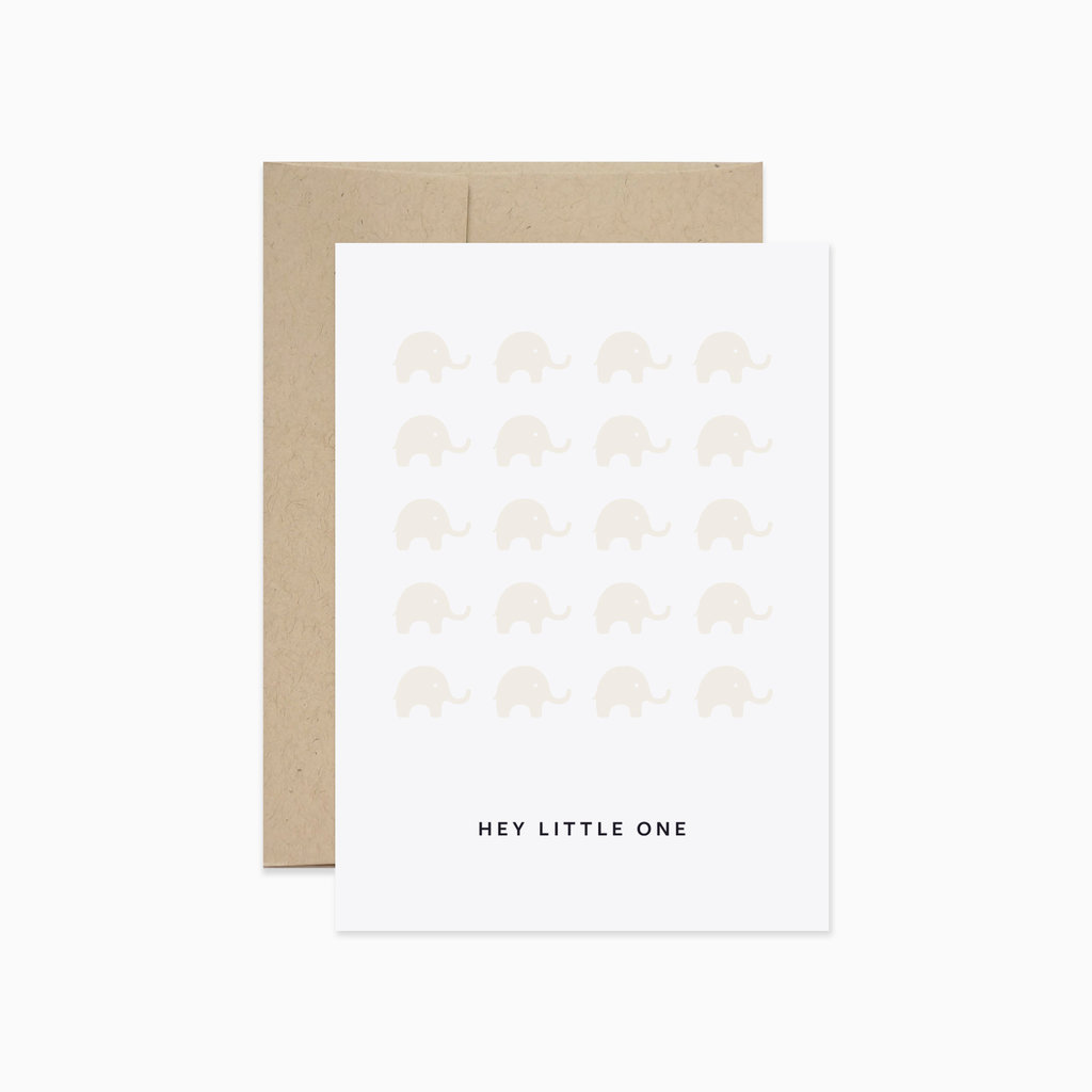 EVERMORE PAPER CO Hey Little One Card