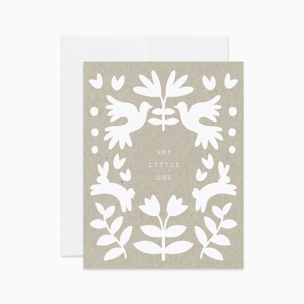 EVERMORE PAPER CO Baby Folk Card