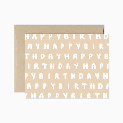 EVERMORE PAPER CO Simple Happy Birthday Card