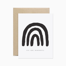 EVERMORE PAPER CO You are Wonderful Card