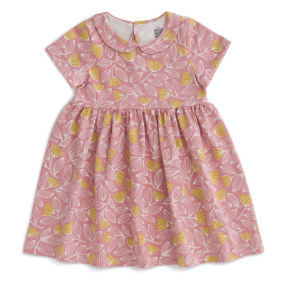 WINTER WATER FACTORY Winter Water Factory Chelsea Dress - Holland Floral Dusty Pink & Yellow