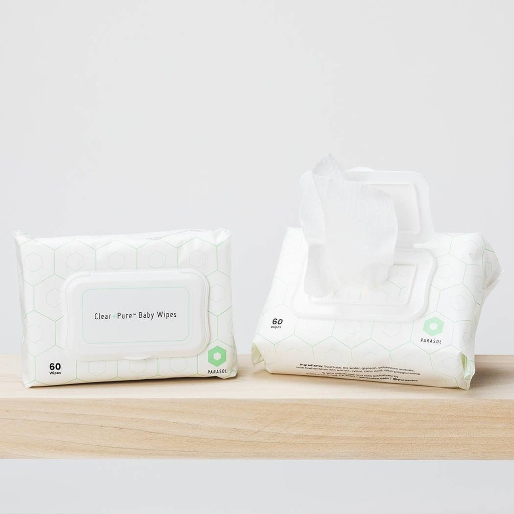 Parasol Co Parasol Co Clear and Pure Baby Wipes
