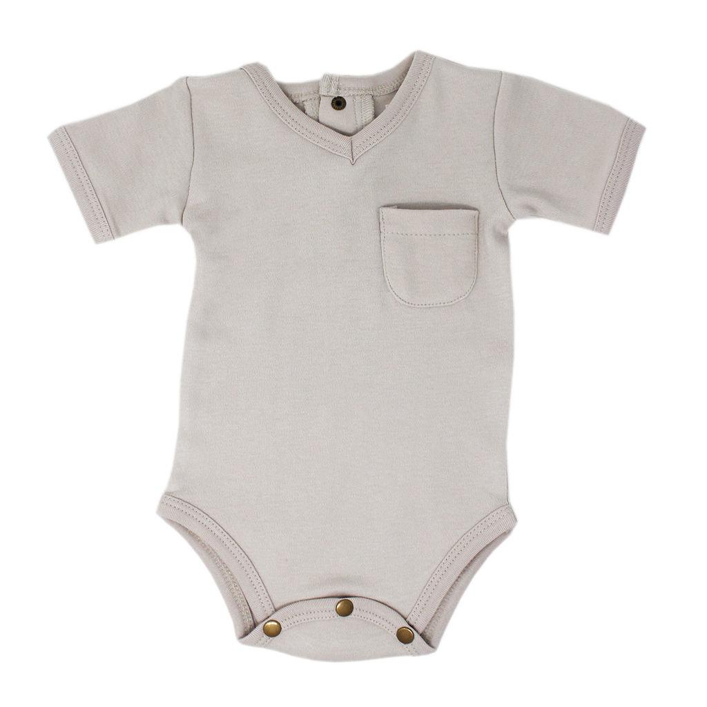 L'OVED BABY L'oved Baby V-Neck Bodysuit