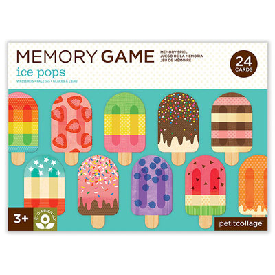 PETIT COLLAGE Petite Collage Ice Pops Memory Game