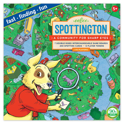 Eeboo Spottington Board Game
