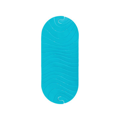 BOON, INC. Ripple Bath Mat Blue