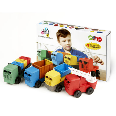 Luke's Toy Factory Luke's Toy Factory Educational 4 Pack