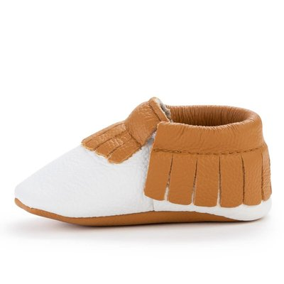 Harvest Leather Baby Moccasins