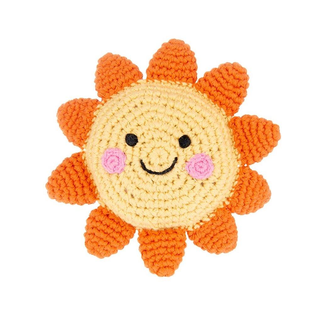 Pebble Pebble Friendly Sun Rattle