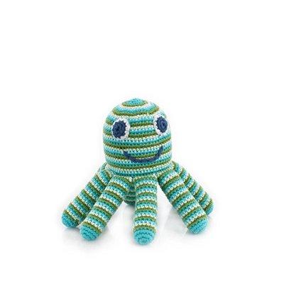 Pebble Pebble Octopus Rattle - Green