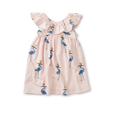 TEA COLLECTION Tea Sparkle Ibis Baby Dress