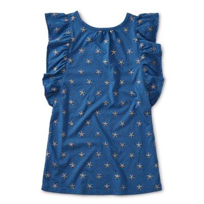 TEA COLLECTION Tea Sparkle Stars Ruffle Dress