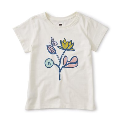 TEA COLLECTION Tea Flower Power Graphic Tee