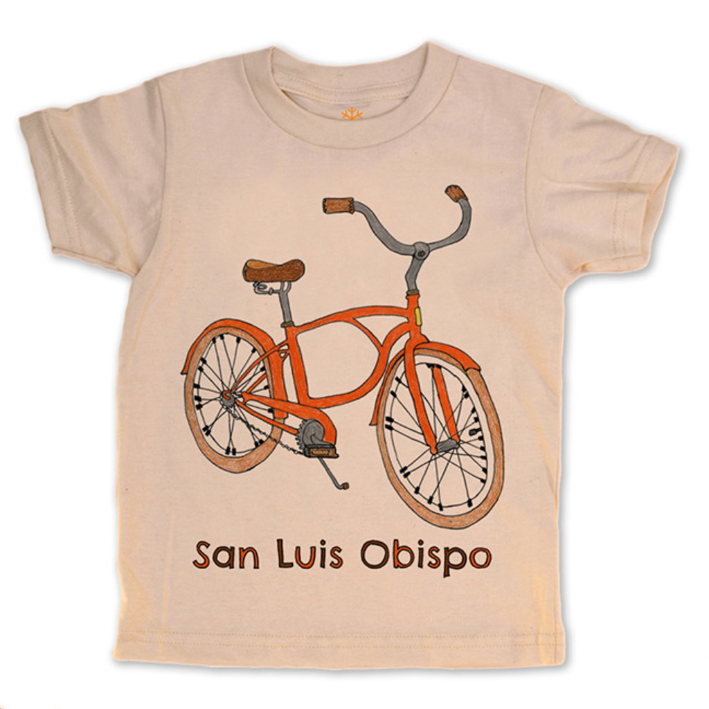orangeheat Organic Cotton Bike SLO Tee
