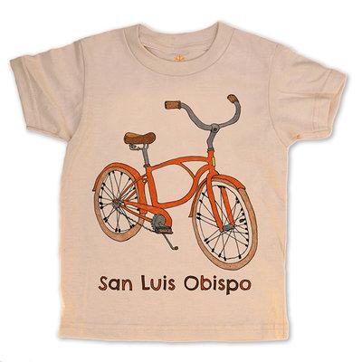 orangeheat Organic Cotton Bike SLO Tee