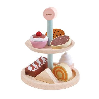 PLAN TOYS Plan Toys Bakery Stand Set
