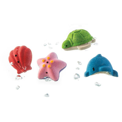 PLAN TOYS Plan Toys Sea Life Bath Set