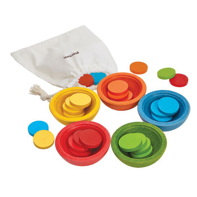 PLAN TOYS Plan Toys Sort And Count Cups