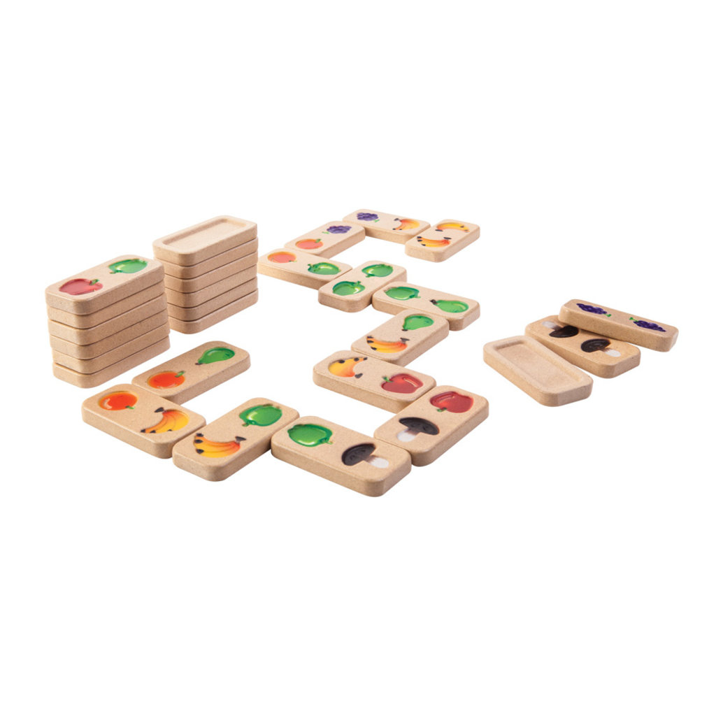 PLAN TOYS Plan Toys Fruit And Veggie Domino