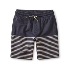 TEA COLLECTION Tea Indigo Knit Beach Shorts