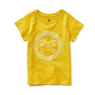 TEA COLLECTION Tea Sunshine Ahead Tee