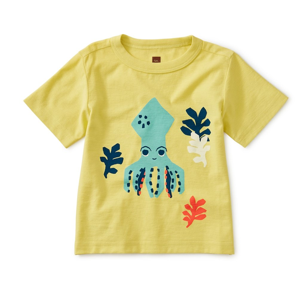 TEA COLLECTION Tea Octopus Baby Graphic Tee
