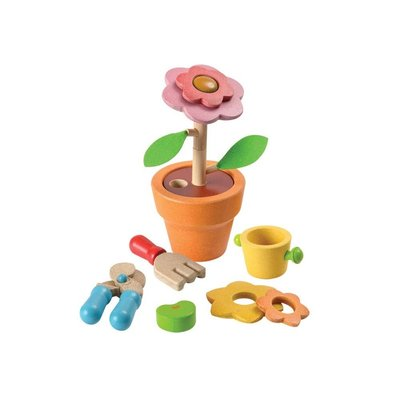 PLAN TOYS Plan Toys Flower Pot Set