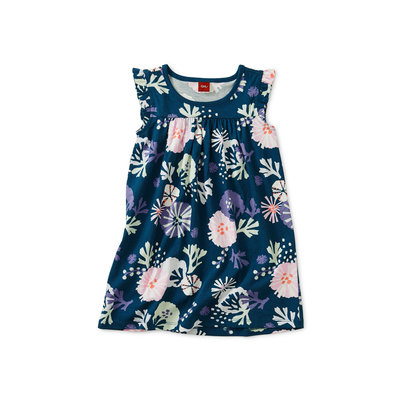 TEA COLLECTION Tea Sea Life Mighty Mini Baby Dress