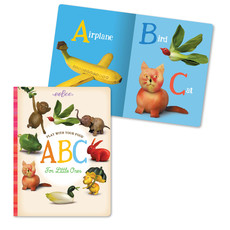 Eeboo Play with Your Food ABC for Little Ones